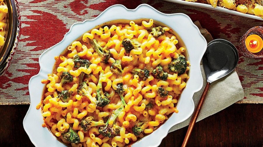 Sült Broccoli Macaroni and Cheese