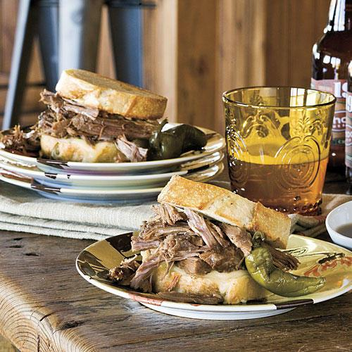 Pioneer Woman: Cowboy Dip Sandwich Recipes