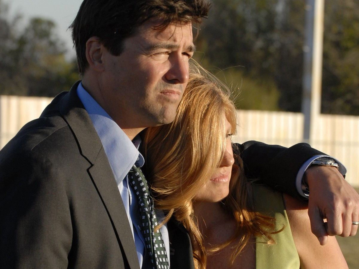 Getty Eric Taylor Tami Taylor Friday Night Lights On Field