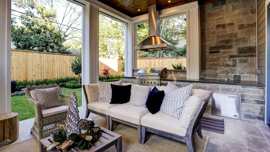 Pierre Acorn Outdoor Living Room