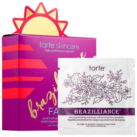 Tarte Brazilliance Skin Rejuvenating Maracujah Self-Tanning Face Towelettes