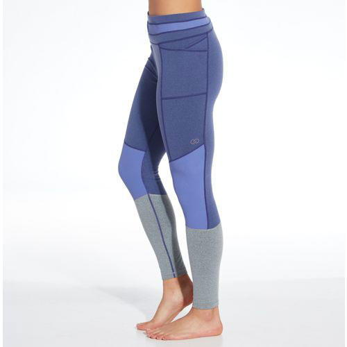 Alapvető Ribbed Leggings in Purple Vibes Heather