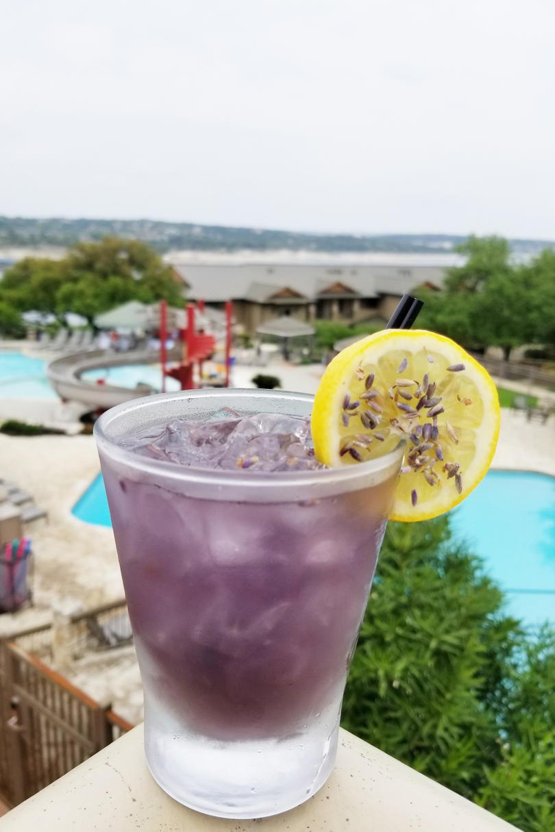 Lakeway Resort & Spa Lavender Lemonade Cocktail